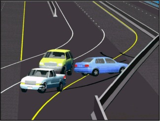 EDSMAC4 Barrier Crash Simulation